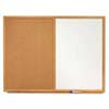 Quartet® Standard Combination Dry-Erase/Cork Bulletin Boards
